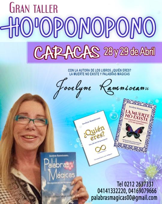 Caracas 28 y 29 abril